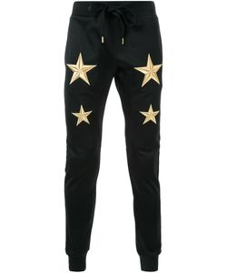 DRESS CAMP | Dresscamp Embroidered Star Track Pants 44 Polyester