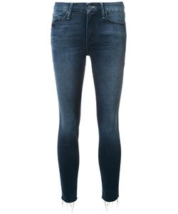 Mother | Cropped Skinny Jeans 28 Cotton/Polyester/Spandex/Elastane