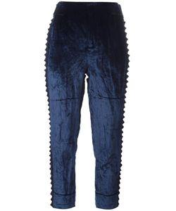A.F.Vandevorst | Parent Tapered Trousers 42 Cotton/Viscose Fibre