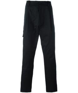 Qasimi | Morse Toggle Trousers 34 Cotton