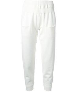 Nehera | Rib Detail Tapered Trousers Small Virgin Wool