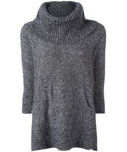 Michael Michael Kors | Oversized Marled Jumper Medium Cotton/Nylon/Alpaca/Merino