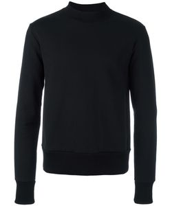 Haus By Ggdb | Mock Neck Sweatshirt Large Cotton/Polyamide/Polyester