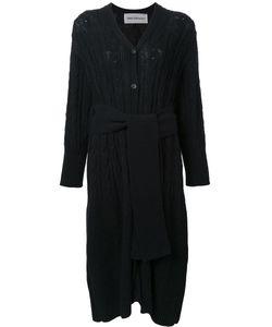 TARO HORIUCHI | Long Belt Waist Cardigan Cotton/Acrylic