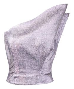 Vika Gazinskaya | One Shoulder Top 40 Silk/Polyester