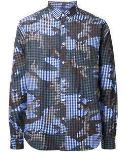 Hbns | Camogingham Shirt Medium Cotton