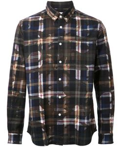 Hbns | Camoprint Shirt Medium Cotton