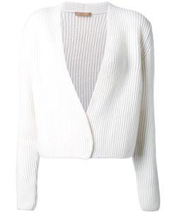 Nehera | Cable Knit Cropped Cardigan Large Merino