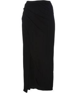 Rick Owens Lilies | Side Slit Jersey Skirt 44