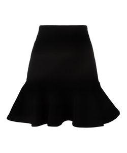 Mcq Alexander Mcqueen | Peplum Mini Skirt Large Polyamide/Polyester/Spandex/Elastane