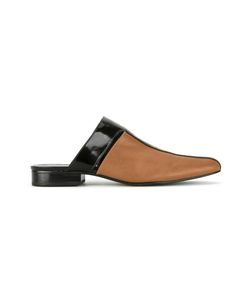 GLORIA COELHO | Leather Mules Womens Size 37 Leather