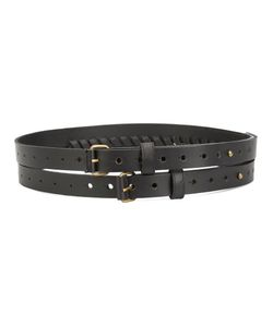 Malia Mills | Double Belt 2 Leather