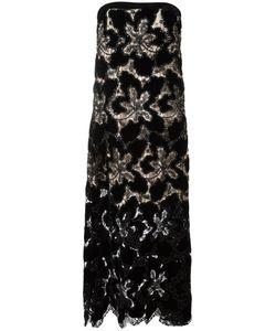 Giorgio Armani | Slip Pattern Gown 42 Silk/Cotton/Polyamide/Viscose
