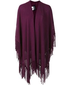 Magaschoni | Fringed Poncho Cashmere