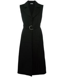 Veronique Leroy | Sleeveless Coat 40 Cotton/Virgin Wool