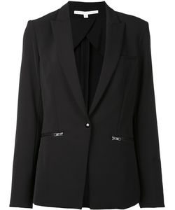 Veronica Beard | Single Breasted Dinner Jacket 10 Nylon/Spandex/Elastane