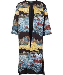 Alena Akhmadullina | Mountainscape Coat 42 Cotton/Viscose