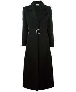 Veronique Leroy | Belted Coat 40 Cotton/Virgin Wool