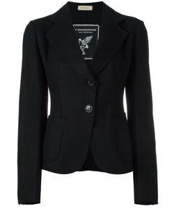 Wunderkind | One Button Blazer 40 Silk/Nylon/Cashmere/Virgin Wool
