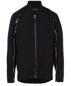 CEDRIC JACQUEMYN | Zip Up Bomber Jacket 50 Silk/Linen/Flax/Polyamide/Virgin