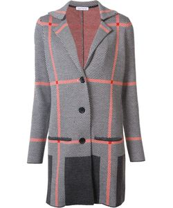 BELLFORD | Plaid Cardi-Coat Medium Merino