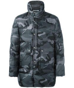 Moncler Gamme Bleu | Camouflage Print Coat Iv Cotton/Feather
