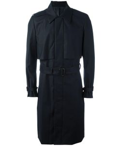 JUUN.J | Pocketed Belted Trench Coat 50 Polyester/Rayon