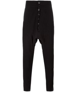 CEDRIC JACQUEMYN | Drop-Crotch Trousers 50 Cotton/Wool