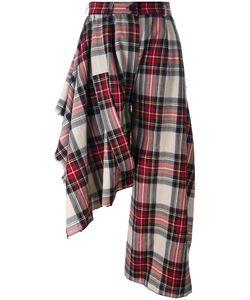 AREA DI BARBARA BOLOGNA | Asymmetrical Tartan Trousers Medium