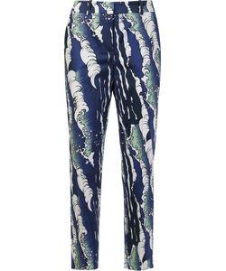 Alena Akhmadullina | Waves Print Trousers 42 Cotton