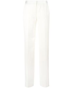 Alexander McQueen | Straight-Leg Tailored Trousers 38 Silk/Polyester/Cupro/Virgin Wool