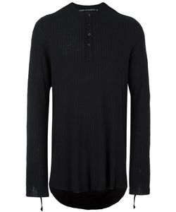 CEDRIC JACQUEMYN | Ribbed Strap Detail Jersey 52 Silk