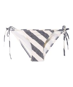Malia Mills | Heidi Striped Tie Bikini Bottoms 2