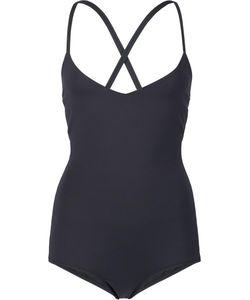 Malia Mills | Alessandra Strappy Back Swimsuit 14 Nylon/Spandex/Elastane