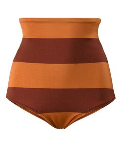 Malia Mills | Sedona Stripe High-Waisted Bikini Bottoms 2