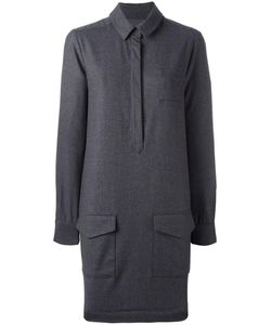YMC | Pocketed Shirt Dress 8 Spandex/Elastane/Virgin Wool