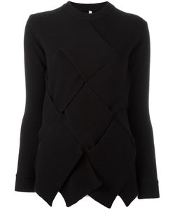 Miahatami | Oversized Woven Detail Jumper 44 Cashmere/Mohair