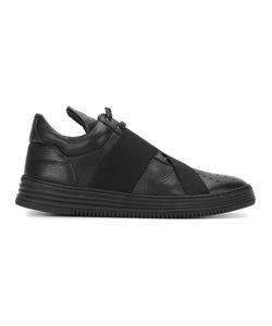 Filling Pieces | Strap Detail Sneakers 44 Calf Leather/Leather/Rubber