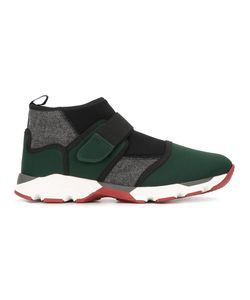 Marni | Velcro Fastening Hi-Top Sneakers 40 Polyester/Rubber