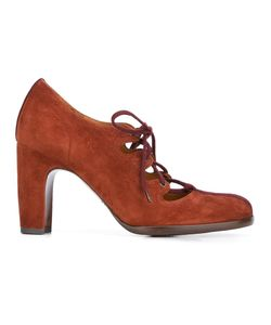 Chie Mihara | Ferrian Lace-Up Pumps 37 Leather/Suede
