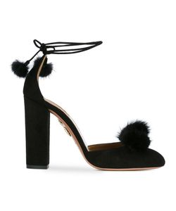 Aquazzura | Wild Russian Pumps 36 Leather/Mink Fur/Suede