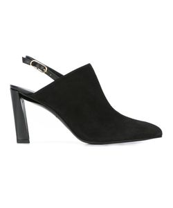 Robert Clergerie   Quida Sling-Back Mules 37.5 Leather/Suede