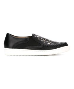 Thakoon Addition | Warwick 5 Slip-On Sneakers 38 Leather/Metal