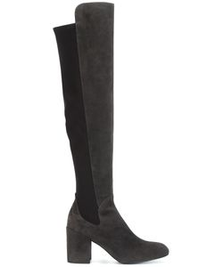 Stuart Weitzman | Half Time Boots 40 Leather/Suede/Neoprene/Rubber