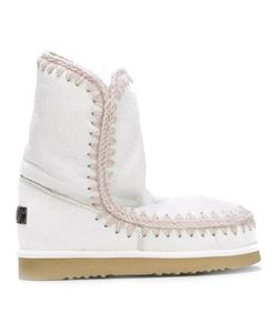 Mou | Eskimo 24 Boots 40 Leather/Sheep Skin/Shearling/Rubber