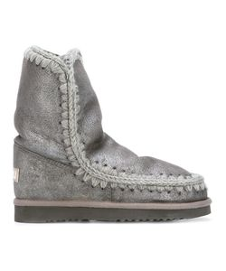 Mou | Eskimo 24 Boots 37 Leather/Sheep Skin/Shearling/Rubber