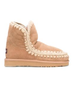Mou | Eskimo 18 Boots 36 Leather/Sheep Skin/Shearling/Rubber