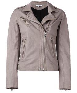 Iro | Han Jacket Size 38 Lamb Skin/Polyester/Rayon