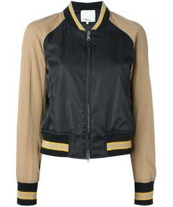 3.1 Phillip Lim | Contrast Bomber Jacket 6 Cotton/Polyamide/Spandex/Elastane/Wool
