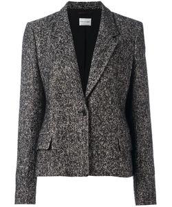 Emanuel Ungaro | Single Button Blazer 44 Acrylic/Polyamide/Polyester/Alpaca
